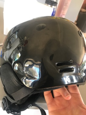 Wear your helmet kids....
